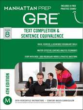 GRE Text Completion & Sentence Equivalence