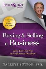 Buying & Selling a Business:  How You Can Win in the Business Quadrant