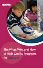 What, Why, and How of High-Quality Programs for Toddlers