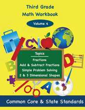 Third Grade Math Volume 4