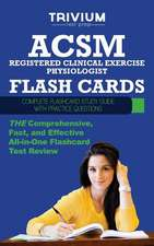 ACSM Registered Clinical Exercise Physiologist Flash Cards