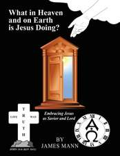 What in Heaven and on Earth Is Jesus Doing?: Embracing Jesus as Savior and Lord