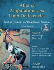 Atlas of Amputations & Limb Deficiencies, 4th edition: Print + Ebook with Multimedia