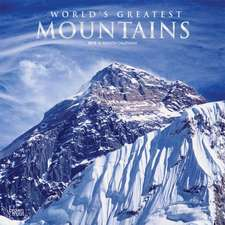 Mountains, Worlds Greatest 2019 Square Wall Calendar