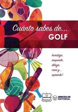 Cuanto Sabes de... Golf