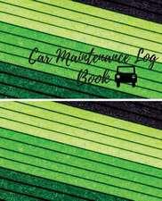 Car Maintenance Log Book