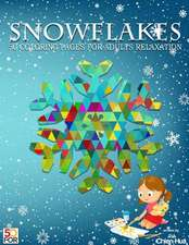Snowflakes 50 Coloring Pages for Adults Relaxation