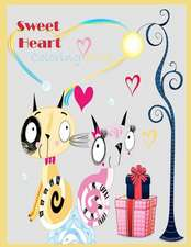 Sweet Heart Coloring Book ( Valentine Theme)