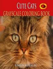 Cute Cats Coloring Book