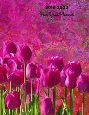 2018 - 2022 Tulips Five Year Planner