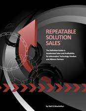Repeatable Solution Sales