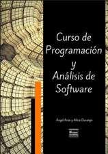 Curso de Programacion y Analisis de Software - Tercera Edicion