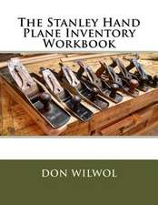 The Stanley Hand Plane Inventory Workbook