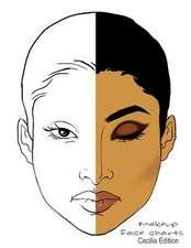 Makeup Face Charts Cecila Edition