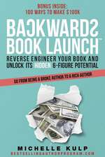 Backwards Book Launch