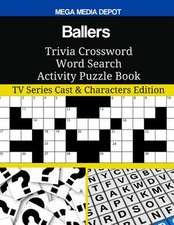 Ballers Trivia Crossword Word Search Activity Puzzle Book