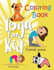 Yoga for Kid Coloring Book