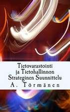 Tietovarastointi Ja Tietohallinnon Strateginen Suunnittelu