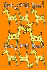 Journal Notebook for Dog Lovers, Yellow Dogs in a Row 1