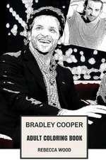 Bradley Cooper Adult Coloring Book
