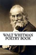 Walt Whitman Poetry Book
