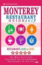 Monterey Restaurant Guide 2019