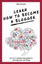 Learn how to become a blogger