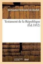 Testament de La Republique