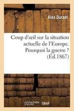Coup D'Oeil Sur La Situation Actuelle de L'Europe. Pourquoi La Guerre ?