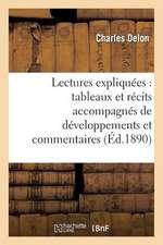 Lectures Expliquees
