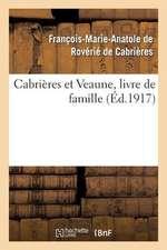 Cabrieres Et Veaune, Livre de Famille