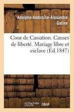 Causes de Liberte. Marie-Sainte Platon