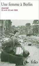 Femme a Berlin:  Extrait de L'Enracinement