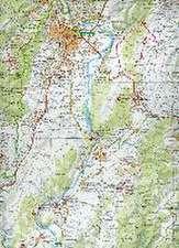 Libris Wanderkarte 11. Monts d'Ardèche 1 : 60 000