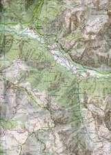 Les Deux Alpes / Parc des Ecrins 1 : 25 000