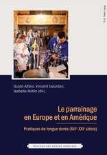 Le Parrainage En Europe Et En Amerique:  An International Perspective