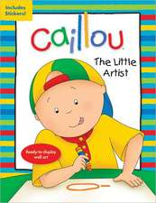 Caillou: The Little Artist: Ready-to-display wall art