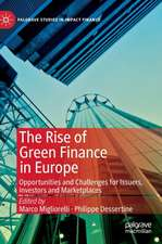 The Rise of Green Finance in Europe