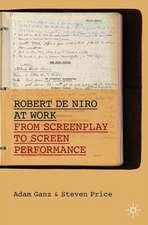 Robert De Niro at Work