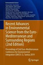 Recent Advances in Environmental Science from the Euro-Mediterranean and Surrounding Regions (2nd Edition): Proceedings of 2nd Euro-Mediterranean Conference for Environmental Integration (EMCEI-2), Tunisia 2019