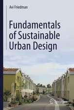 Fundamentals of Sustainable Urban Design