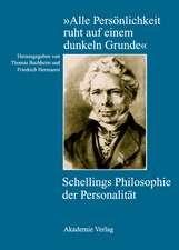 """""""Alle Persönlichkeit ruht auf einem dunkeln Grunde"""": Schellings Philosophie der Personalität"""