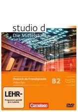 studio d Mittelstufe. Video-DVD zu Band 1 und 2