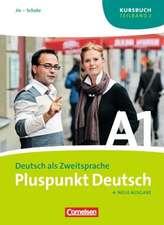 Pluspunkt Deutsch 1/2 B. Kursbuch / Arbeitsbuch / Audio-CD