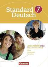 Standard Deutsch 7. Schuljahr. Arbeitsheft Plus