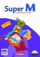 Super M 4. Schuljahr. Arbeitsheft mit CD-ROM und Lernstandsseiten. Östliche Bundesländer und Berlin