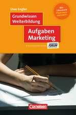 Grundwissen Weiterbildung: Aufgaben Marketing