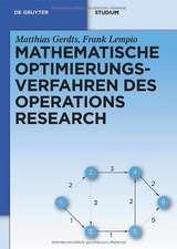 Mathematische Optimierungsverfahren des Operations Research