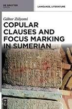 Copular Clauses and Focus Marking in Sumerian