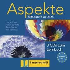 Aspekte 2 (B2) - 3 Audio-CDs zum Lehrbuch 2